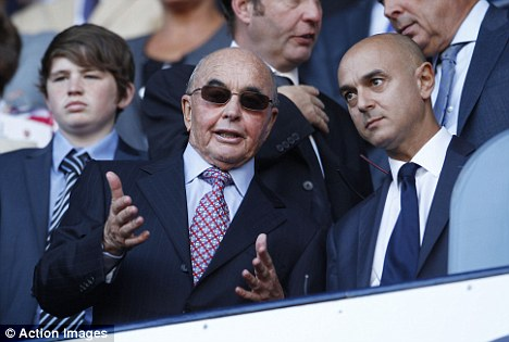 Daniel Levy Joe Lewis