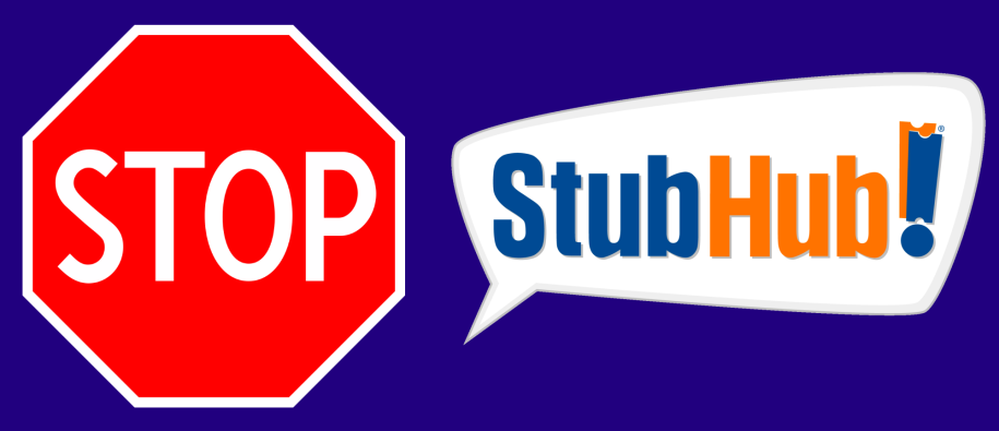 Stop StubHub – Important Update – The Fighting Cock